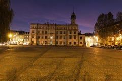 Vecchio municipio di Kazimierz a Cracovia Fotografia Stock