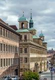 Vecchio municipio di Norimberga, Germania fotografie stock libere da diritti