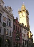 Vecchio municipio, Praga Immagini Stock