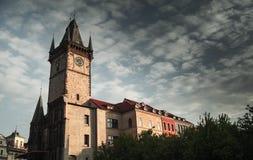 Vecchio municipio, Praga, Repubblica ceca immagine stock