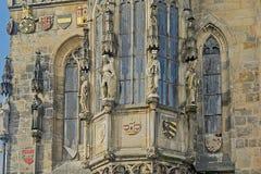 Vecchio municipio, Praga, Repubblica ceca Fotografia Stock