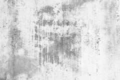 Vecchio muro di cemento del fondo grigio, lerciume, struttura di pietra Immagine Stock Libera da Diritti