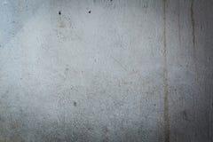 Vecchio muro di cemento distrutto con la struttura irregolare Fotografia Stock Libera da Diritti