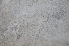 Vecchio muro di cemento nocivo entro tempo Immagine Stock Libera da Diritti