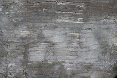 Vecchio muro di cemento nocivo entro tempo Fotografia Stock Libera da Diritti