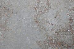 Vecchio muro di cemento nocivo entro tempo Immagini Stock