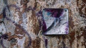 Vecchio muro di cinta Immagine Stock