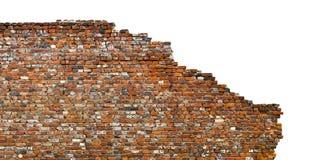 Vecchio muro di mattoni immagini stock