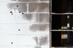Vecchio muro di mattoni Fotografie Stock