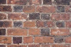 Vecchio muro di mattoni. Immagini Stock