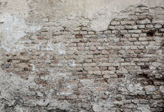 Vecchio muro di mattoni Fotografia Stock Libera da Diritti