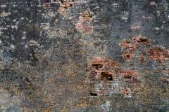 Vecchio muro di mattoni Fotografia Stock
