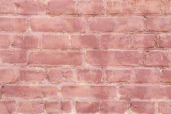Vecchio muro di mattoni blu con pittura, struttura del fondo retro Immagini Stock Libere da Diritti