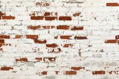 Vecchio muro di mattoni come priorità bassa immagini stock