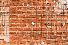 Vecchio muro di mattoni del grunge Immagine Stock Libera da Diritti