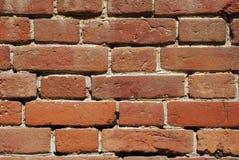 Vecchio muro di mattoni della chiesa Immagini Stock