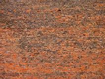 Vecchia struttura rossa del mattone rosso Fotografie Stock Libere da Diritti