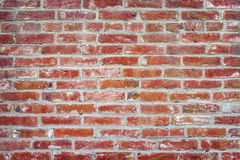 Vecchio muro di mattoni della priorità bassa Fotografia Stock