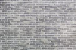 Vecchio muro di mattoni grigio fotografia stock libera da diritti