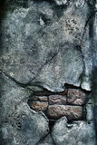 Vecchio muro di mattoni nocivo fotografia stock libera da diritti