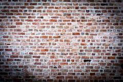 Vecchio muro di mattoni rosso 1 a Immagini Stock Libere da Diritti