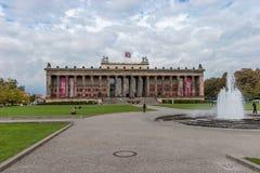 Vecchio museo Berlino Fotografie Stock Libere da Diritti