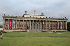 Vecchio museo Berlino - museo antico sull'isola di museo di Berlino Immagini Stock