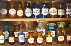 Vecchio museo della farmacia Immagini Stock Libere da Diritti