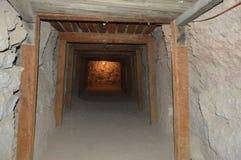 Vecchio museo della miniera in Oatman Immagini Stock