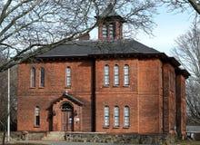 Vecchio museo di storia della colonia a Taunton, Massachusetts, fotografia stock