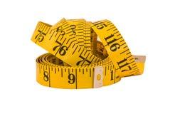 Vecchio nastro di misurazione Immagini Stock