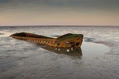 Vecchio naufragio Fotografia Stock Libera da Diritti