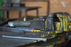 Vecchio negozio del lavoro in metallo Fotografia Stock