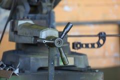 Vecchio negozio del lavoro in metallo Fotografia Stock Libera da Diritti