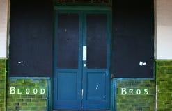 Vecchio negozio Front Rigwood Victoria Fotografie Stock Libere da Diritti