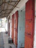Vecchio negozio a Port Louis Fotografia Stock Libera da Diritti