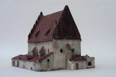 Vecchio-nuova sinagoga, Praga Immagine Stock Libera da Diritti