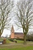 vecchio olandese della chiesa Fotografia Stock