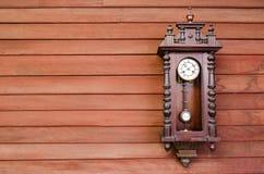 Vecchio orologio Fotografia Stock Libera da Diritti