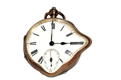 Vecchio orologio Immagini Stock