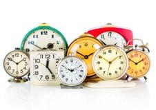 Vecchio orologio Fotografie Stock