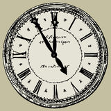 Vecchio orologio illustrazione vettoriale