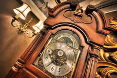 Vecchio orologio antico Fotografia Stock Libera da Diritti