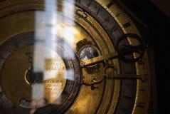 Vecchio orologio (antico) con i numeri romani Immagine Stock Libera da Diritti