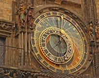 Vecchio orologio astronomico a Praga Immagine Stock Libera da Diritti