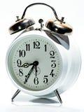 Vecchio orologio bianco Immagini Stock Libere da Diritti