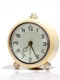 Vecchio orologio bianco Fotografia Stock Libera da Diritti
