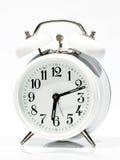 Vecchio orologio bianco Immagine Stock Libera da Diritti