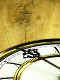 Vecchio orologio con i numeri romani Immagine Stock Libera da Diritti