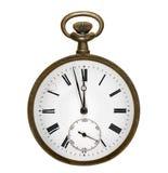 Vecchio orologio da tasca Fotografia Stock
